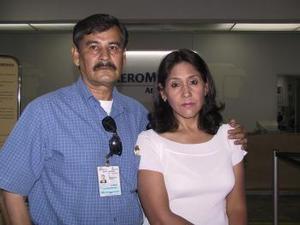 <u><b> 11 de mayo </u> </b><p>  Imelda Martínez de Burciaga, partió de vacaciones a Egipto, acudió a despedirla Armando Burciaga.