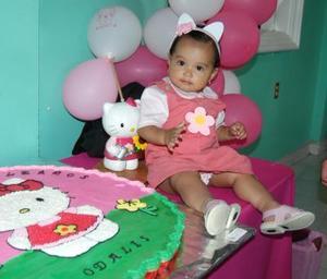 Odalis Guadalupe Barrón de Luna festejó su cumpleaños, con un divertido convivio infantil que le ofrecieron sus papas.