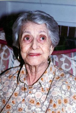 Rita de Anda vda. de Luna cumplió 86 años de vida y los festejó con un agfradable convivio