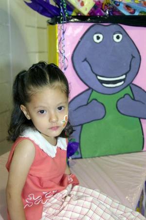 Ana Sofía Cuéllar Mendoza cumplió cinco años de vida y por tal motivo, la festejaron con un divertido convivio.