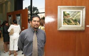La inauguración de la exposición se lleva a cabo bajo el título Óleos y Acuarelas de Rafael Aguirre, XXV y Veinticinco, con el apoyo de la Dirección Municipal de Cultura de Gómez Palacio.