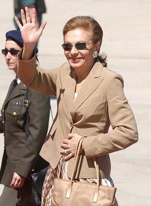 Farah Pahlavi, esposa del último shah de Irán