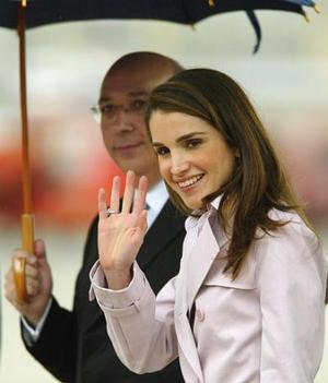 La reina de Jordania, Rania
