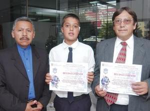 <u><b> 21 de mayo </u> </b><p> El grupo de sexto grado sección A de la Escuela Primaria Sertoma, que tiene como titular al maestro José Manuel Castillo Salas, obtuvo el primer lugar en la  Olimpiada de Conocimiento Infantil a nivel regional.