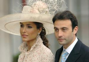 El torero Enrique Ponce y su esposa, Paloma Cuevas