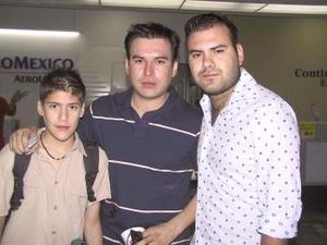 Ana Contreras y Alejandro Noriega regresaron al Distrito Federal.