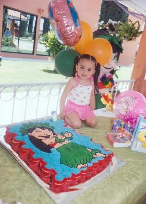 <u><b> 27 de mayo </u> </b><p> María Fernanda Ramos Sánchez festejó su segundo aniversario de vida, con un divertido festejo infantil que le ofreció su mamá.