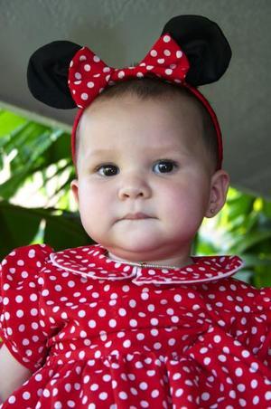 Giuliana Zanella Braña festejó un año de vida, con un convivio que le ofrecieron sus papás.