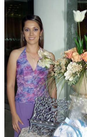 Gabriela Salcido Moreno, en su primera despedida de soltera.