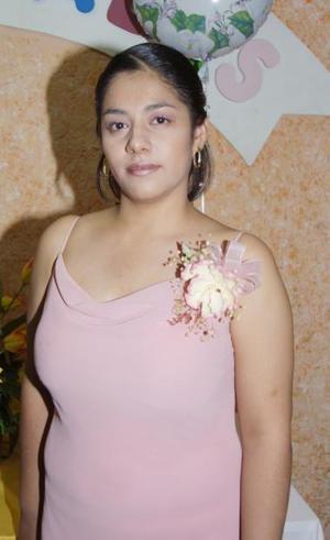 <u><b> 29 de mayo </u> </b><p>   Rocío García Chavoya, captada en la despedida de soltera que se le ofreció.