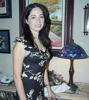 Katia Carrete Montes, captada en su última despedida de soltera.