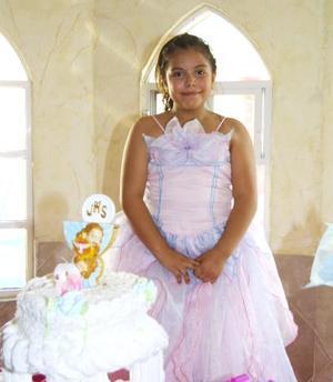 Georgina Jackeline Olivares Franco celebró su noveno cumpleaños con un convivio.