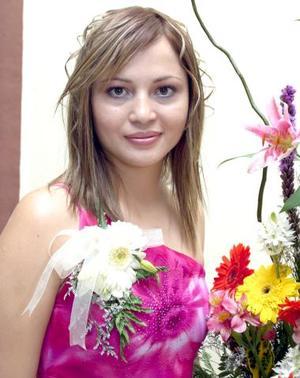 Karla Edith Reyes Rodríguez, contraerá matrimonio en breve y por tal motivo disfrutó de una despedida de soltera.