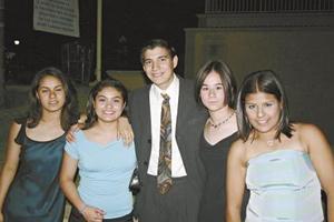 Mafer Tagle, Itamar Casale, Mayela Félix y Gina Pérez.