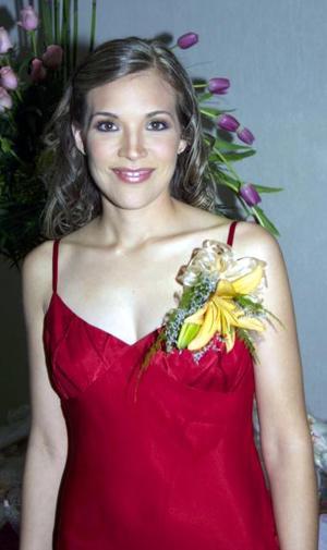 <u><b> 03 de Junio </u> </b><p>   Ana ELisa Lastra Camacho, feliz en su despedida.