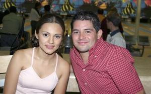Jessica de la Torre y Luis Maeda.