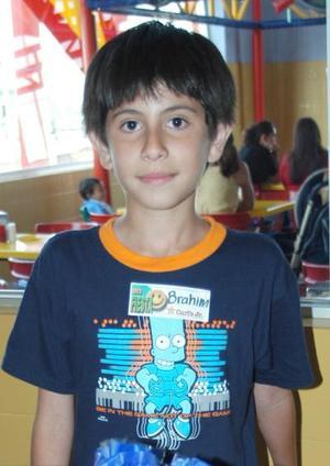 Brahim Chaib Lozano festejó 11 años de vida, con un divertido convivio.
