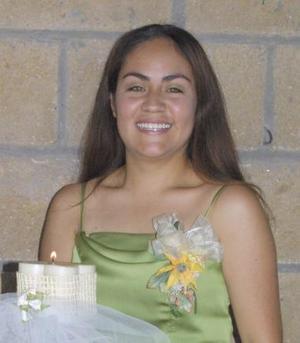 Karla Judith Rodríguez Pacheco, captada en su despedida de soltera.