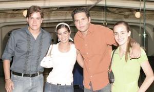 Octavio Campa, Ana Lucía García, Guirrermo Baile y Betty Murra.