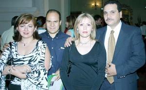 Angélica de Velarde, Israel Vélarde, Silvia Carrete y Jorge Murra.