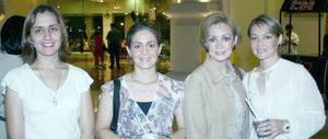 <u><b> 05 de Junio </u> </b><p>  Isela Carrera, Eloísa Ruiz de Artigas y Nora de Negrete, se hicieron presentes en el concierto