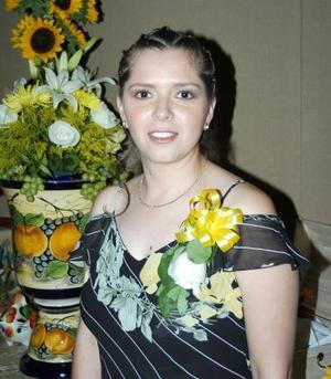 Adriana Ruiz Lozano, feliz en su despedida