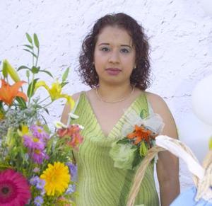 Liseth Herrera Rubio, captada en su despedida de soltera