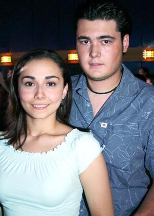 Nadia Rivera y Michel Cabodevilla.