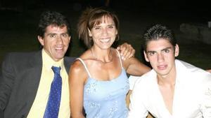 Rafael, Angélica y Carlo Villarreal..