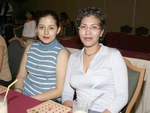 Yessenia Morán y Elsa de Ávila.