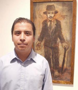Miguel Canseco es uno de los artistas que participaron en la muestra Noche en la Tierra