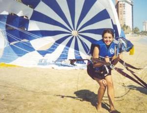 Jabuba Soto Ayoup, captada en sus más recientes vacaciones en la playa Jacksonville de Miami, Florida, en los Estados Unidos