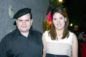 <u><b> 09 de Junio </u> </b><p>  Manuel García Peña y Llarely Nava de García.