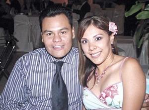 Julián Jaime y Claudia B. de Jaime.
