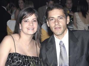 Adriana Torres y Hernán Russek