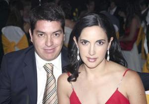 Daniel Calvillo y Bárbara Garza.
