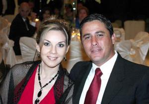 Elena Faudoa y Fernando Galarza.