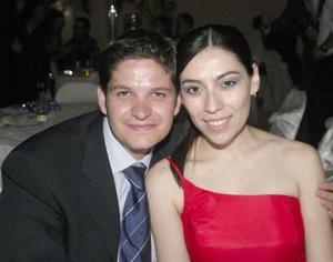 Francisco Aguirre y Eva Magallanes.