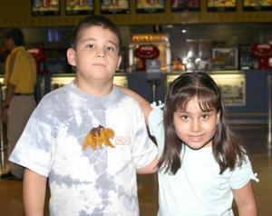 Édgar Gerardo y Nicole Edith García.