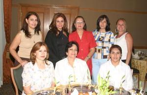 Ana Lucía Chibli, Susy de Flores, Vicky de Chibli, Aracely de Chibli, Rosario de Garza, Laura de Flores, Carmen Máynez y Carmen de Chibli.