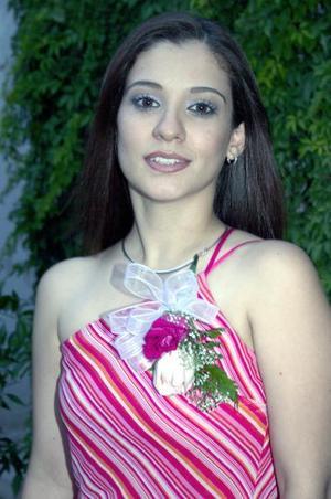 Ana Laura Echevarría MArtínez captada en su despedida de soltera, realizada en días pasados por su próximo matrimonio.