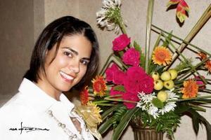 Maru Vargas Carrejo, feliz en su despedida.