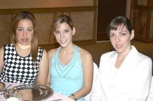 Aída Mansur, Laura Garza y Bárbara Dueñez.