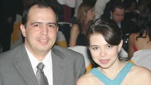 Federico Obeso Anaya y Marina Martínez Hamdam, en pasado acontecimiento social.