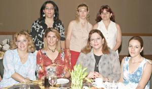 <u><b> 12 de Junio </u> </b><p>   Silvia López, Yoyis de Jáuregi, Silvia García, Irma García, Diana Flores, Norma Flores y Ana Laura Flores.