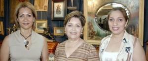 Belinda Nahle, Eva de Magallanes y Gaby de Martínez