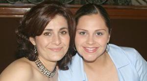 Eunice B. de Juárez y Mónica Meraz