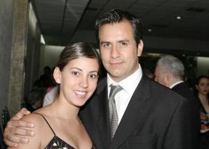 Bárbara Rubio y Jorge Sánchez.