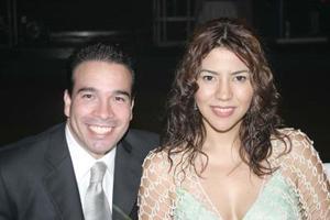 Marcelo Múzquiz y Mayra Rodríguez.