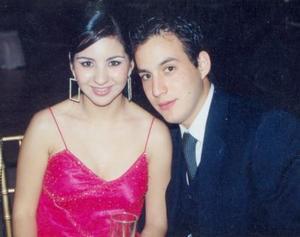 Tania Trasfí y Carlos Gallegos.